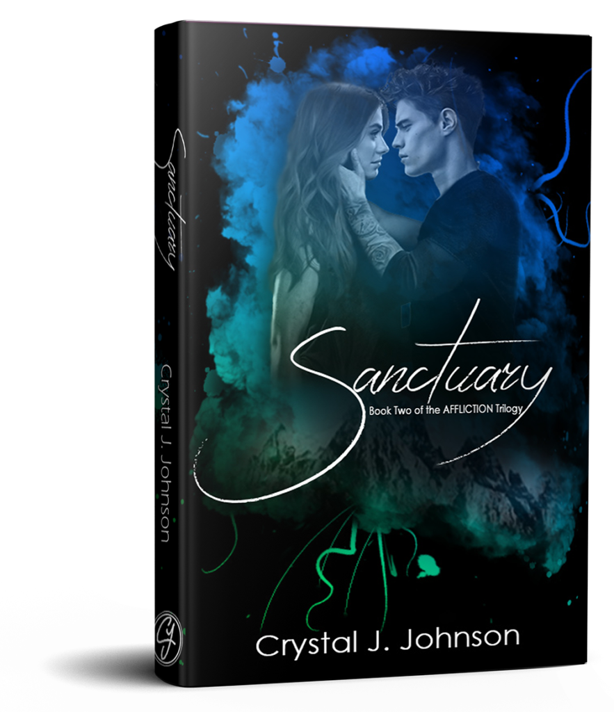 Sanctuary book two of the affliction trilogy by Crystal J. Johnson